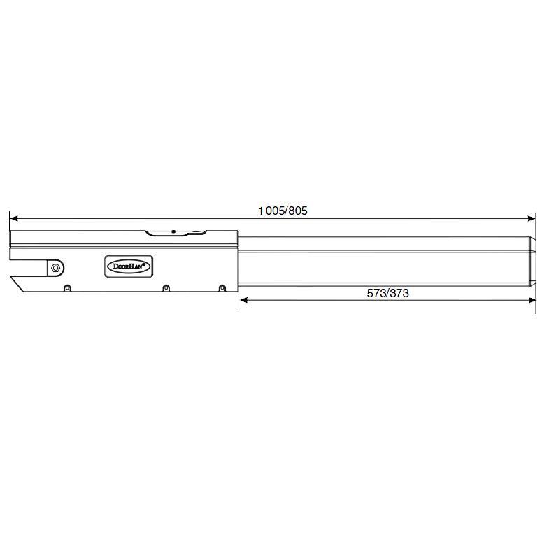 Автоматика для распашных ворот doorhan swing-5000n