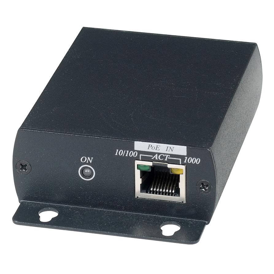 Удлинитель SC&T IP04 PоE по кабелю UTP CAT5e