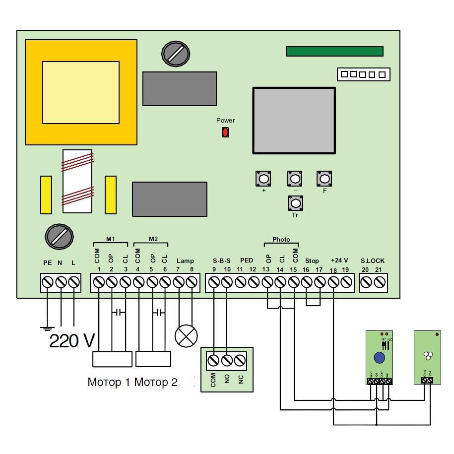 Doorhan pcb-sw инструкция по настройке